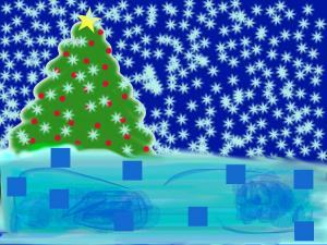 Kalėdinis atvirukas 1A Evita