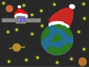 Kalėdinis atvirukas 1 Agnė Staniulytė 1A